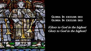 Angels from the realms of glory - Christmas Carol (with lyrics)