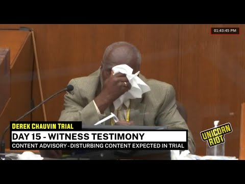 Chauvin Trial Day 15 - Witness Testimony pt 3