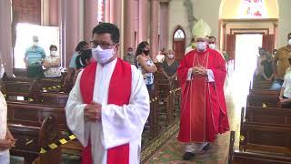 Em meio a pandemia, celebrações da Sexta-feira Santa são realizadas com restrições