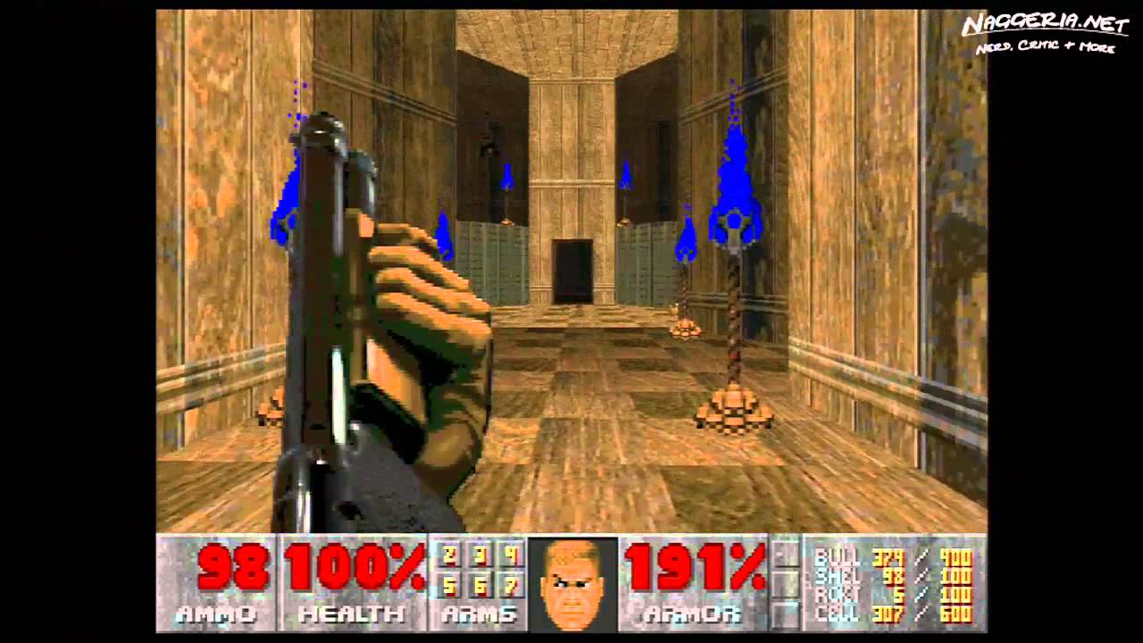 "Doom (E4M3 ""Sever the Wicked"") Walkthrough – Ultra-Violence"