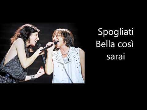 , title : 'Gianna Nannini & Giorgia - Salvami Testo Lyrics'