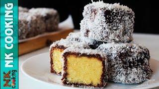 ЛАМИНГТОН - Австралийский Десерт ♥ Супер Просто и Вкусно ♥ Рецепты NK cooking