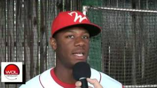 WOLnews Exclusive Video   Anthony Hewitt 3rd Base