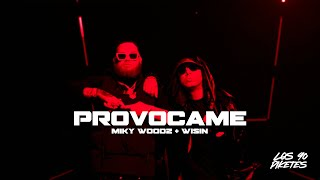 Video Provócame de Miky Woodz feat. Wisin