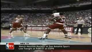 1995 WCF Gm. 2 Rockets vs. Spurs