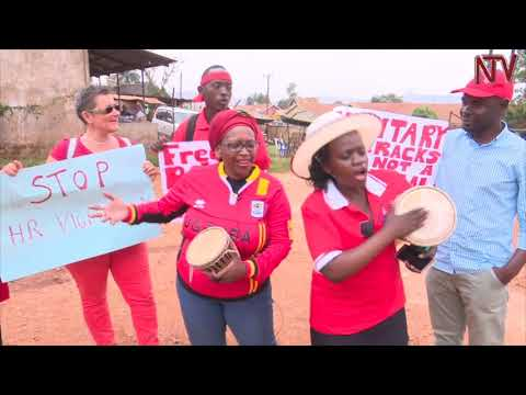 Police blocks protests by Bobi Wine supporters
