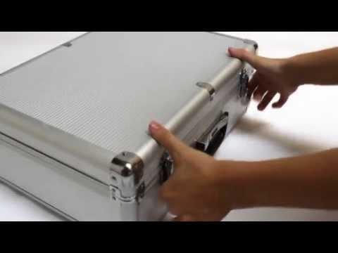 maletin aluminio caja de herramientas aluminium case