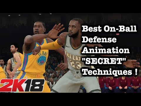 NBA 2K18 On Ball Defense Tips & Secrets: How to defend hip blow by animation 2K18 1v1 Defense #82