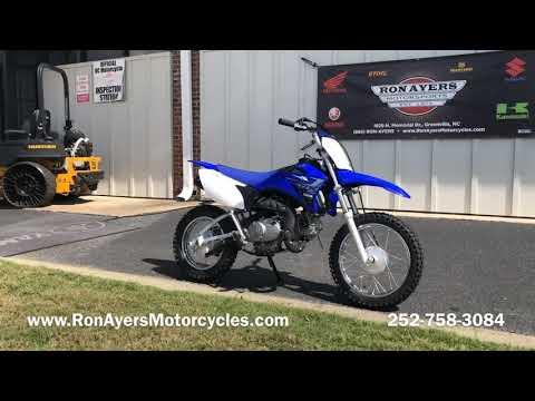 2020 Yamaha TT-R110E in Greenville, North Carolina - Video 1