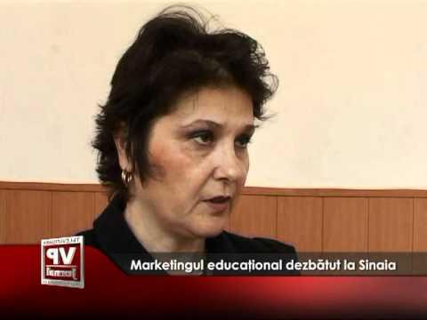 Marketingul educaţional dezbătut la Sinaia