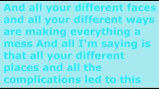 Boys Like Girls - Up Against The Wall - Lyrics