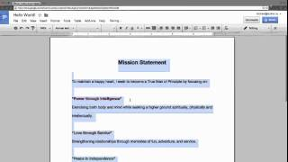 How to change Line Spacing & Paragraph spacing in Google Docs