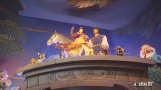 [4K] Disneyland Paris Snow White Ride - Snow White