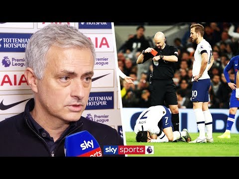 Jose Mourinho wishes Antonio Rudiger a speedy recovery from his broken ribs after Son is sent off