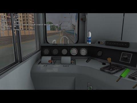 Open Rails 3D Cab test - Russian 3ТЭ10М (3TE10m ) - смотреть онлайн