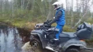 Квадроцикл на рыбалке