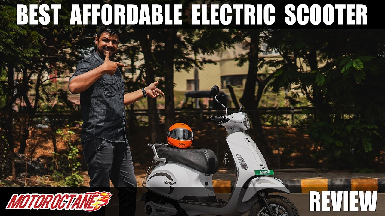 Motoroctane Youtube Video - Best Affordable Electric Scooter in India | MotorOctane