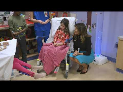 First Lady Melania Trump Visits Children's National Hospital