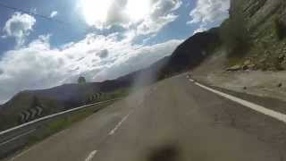 preview picture of video 'Puerto de Cotefablo, Spain road N260a'