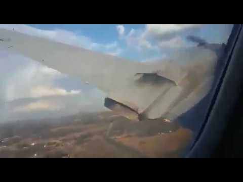 Convair CV-340 Crash Near Pretoria, South Africa Taken From Inside The Cabin Mp3