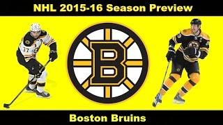 """NHL 2015-16 Season Preview ep. 3 """"Boston Bruins"""""""