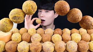 뿌링 치즈볼 먹방ASMR MUKBANG FRIED CHEESE BALLS チーズボール Phô Mai Viên Bola Keju ลูกชีส Eating Sounds