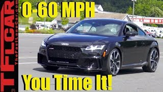 Does The New 400 HP Audi TT RS Really Do 0-60 MPH in 3.6 Seconds?