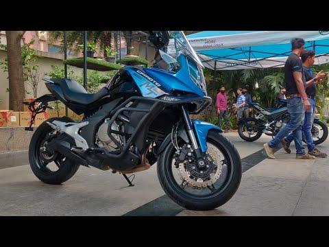 Motoroctane Youtube Video - CF Moto 650 MT - Kawasaki Versys 650 competition | Hindi | MotorOctane
