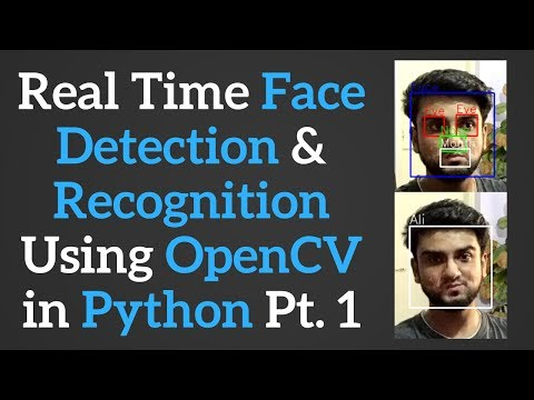 Streaming Video (Web Cam) with OpenCV and Python - смотреть