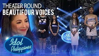 "Beautifour Voices sings ""It's All Coming Back To Me Now"" at Theater Round 