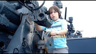 Visiting Battleship Texas!