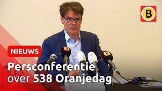 Persconferentie over 538 Oranjedag | Omroep Brabant