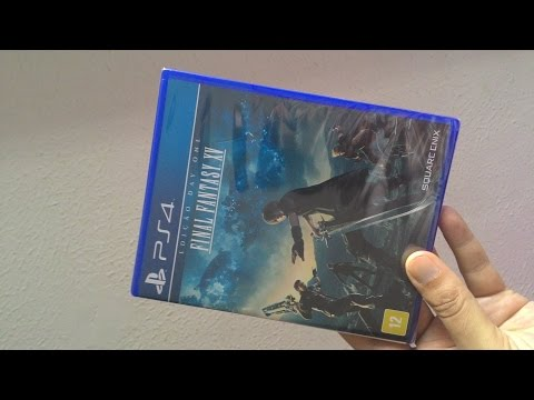 Unboxing FINAL FANTASY XV PT-BR