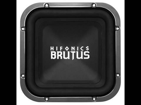 Hifonics Brutus BRX12D4 Car Subwoofer | Maxxsonics @ CES 2013