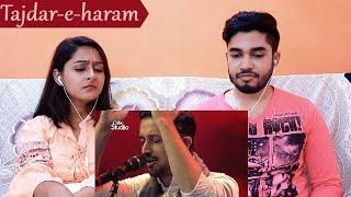 INDIANS react to Tajdar-e-haram| Atif Aslam| Coke Studio S08E01