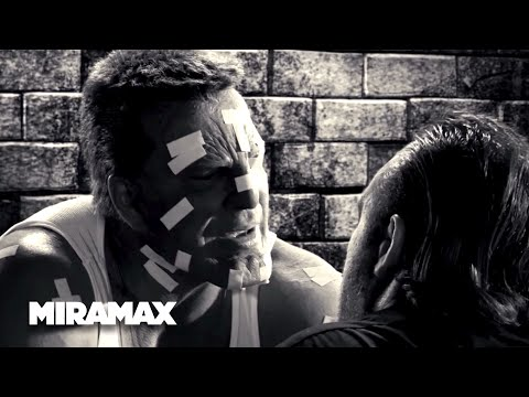Sin City | 'Hitmen' (HD) - Mickey Rourke, Brittany Murphy | MIRAMAX