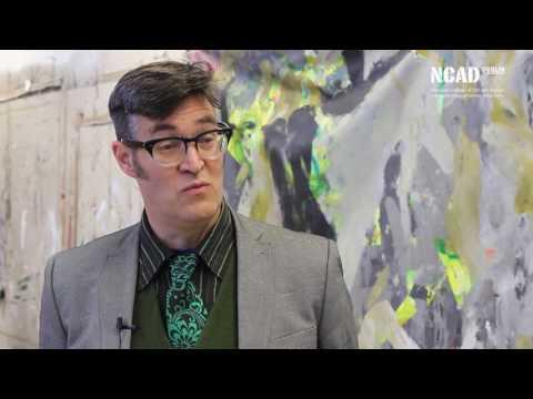 Professor Philip Napier - NCAD, Head of School of Fine Art
