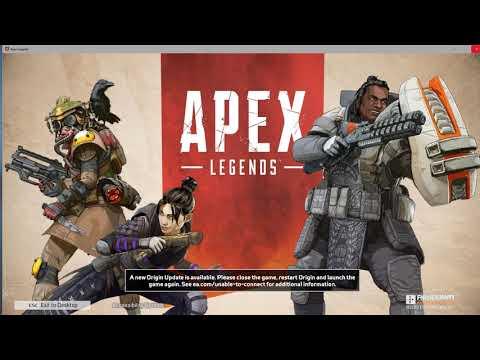 QUICKEST FIX - Origin Update screen | Apex Legends