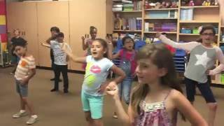 "Third Graders end of day dance to Justin Timberlake's  ""Can't Stop This Feeling"""
