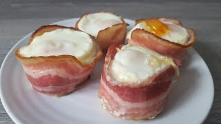 bacon egg in muffin tin recipe