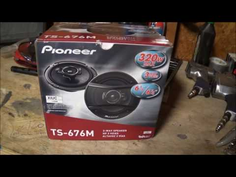 CAR AUDIO REVIEW, PIONEER TS 676M REVIEW