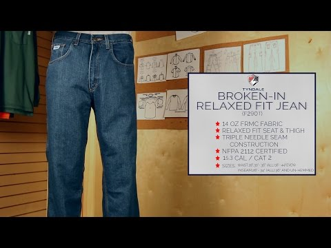Broken In Relaxed Fit Jean F290T