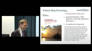 Professor Stephen Turnock CEng FIMechE FRINA FHEA, Professor of Maritime Fluid Dynamics, University of Southampton