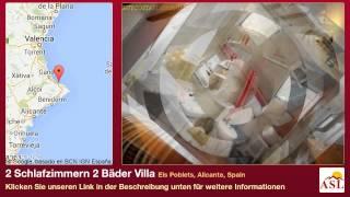 preview picture of video '2 Schlafzimmern 2 Bäder Villa zu verkaufen in Els Poblets, Alicante, Spain'