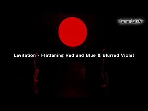Levitation - Flattening Red and Blue & Blurred Violet