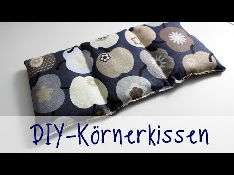 Julia's tillishop DIY's: Körnerkissen (in NUR 30 Minuten)