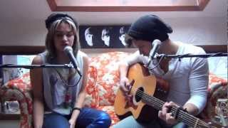 "Christina Aguilera and Blake Shelton ""Just A Fool"" cover by Mike Squillante and Lauren Ruth Ward"