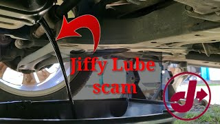 Jiffy Lube oil change SCAM! 2020