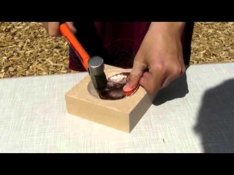 So funktioniert Kupfertreiben: Expertin erklärt das Verfahren