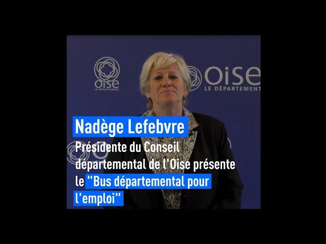 Ce que le Conseil départemental de l'Oise fait pour vous - Le Bus départemental pour l'emploi
